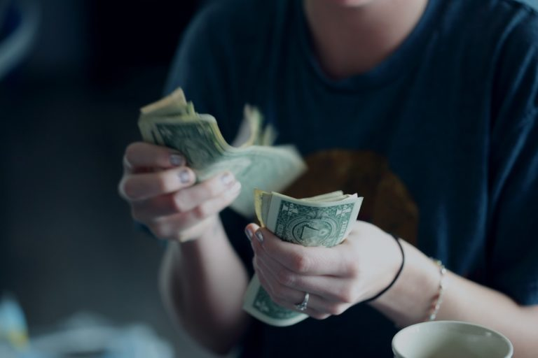 money-doll